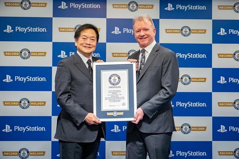 Sony PlayStation — в Книге рекордов Гиннеса