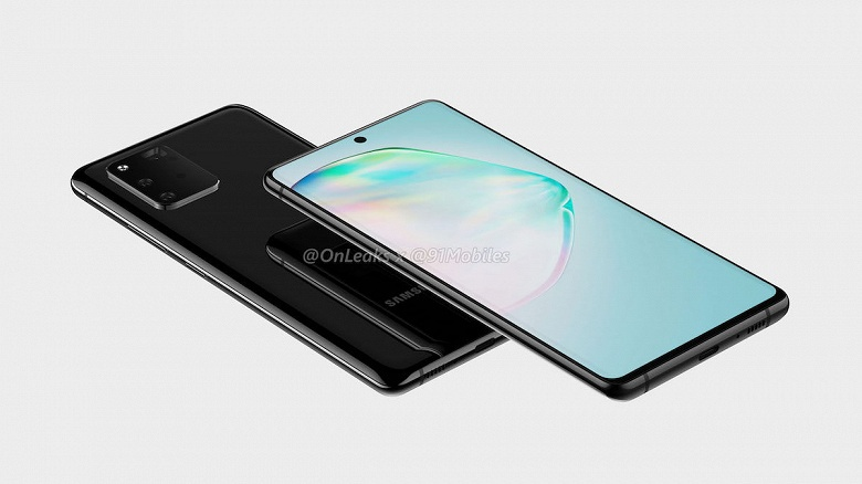 Народный флагман Samsung Galaxy A91 похож на Galaxy Note10 и будущий Galaxy S11 одновременно