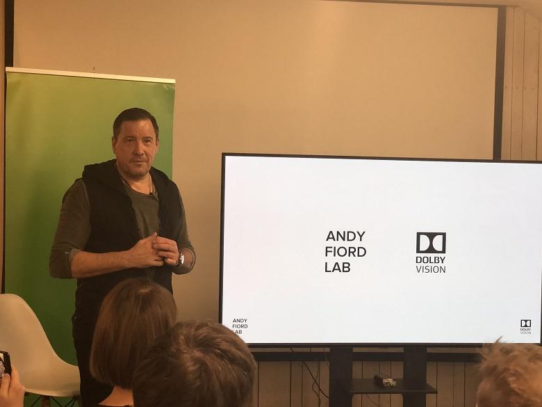 Открылась первая студия Dolby Vision в России