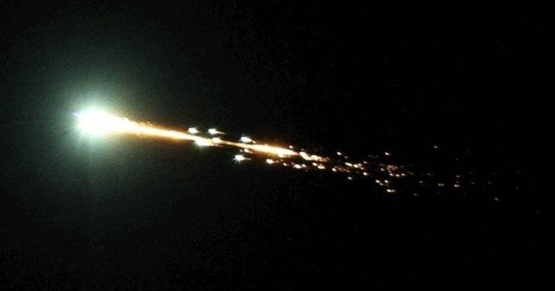Загадочный огненный шар в небе над Австралией: гость с небес