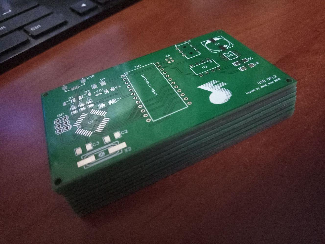 USB-звуковая карта на YM3812 - 4