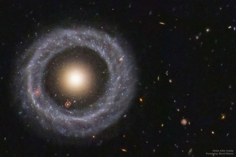 «Хаббл» получил новый снимок объекта Хога
