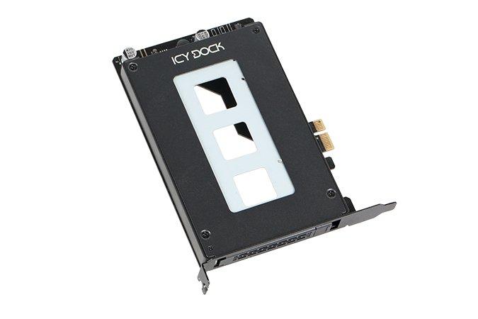 Отсек для накопителя с поддержкой горячей замены ToughArmor MB839SP-B устанавливается в слот PCIe