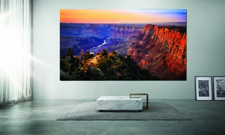 1,7 млн долларов за телевизор Samsung. Модели The Wall поступают в продажу