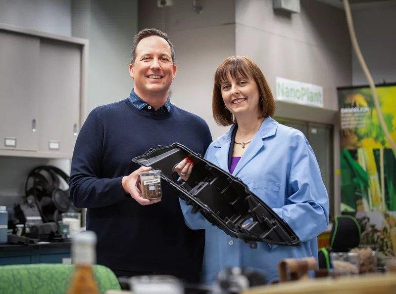 Ford и McDonald's решили создавать пластик из кофейной шелухи