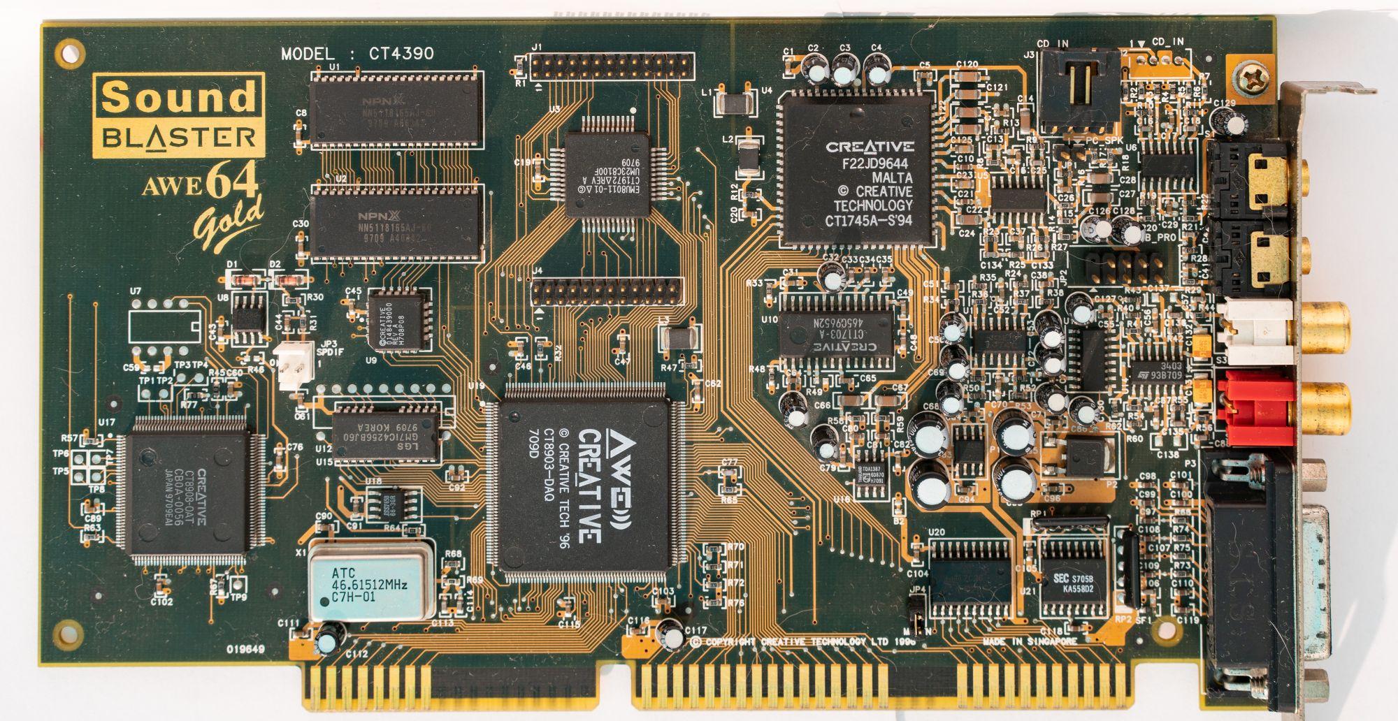 Древности: чем хуже, тем лучше или особенности Sound Blaster Pro 2 - 2