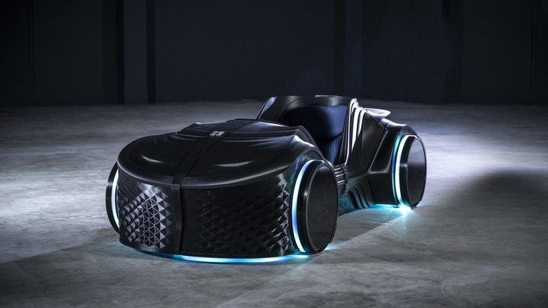 Немцы представили 3D-печатный беспилотный электрокар - 2