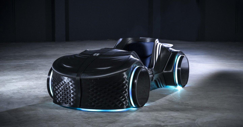 Немцы представили 3D-печатный беспилотный электрокар