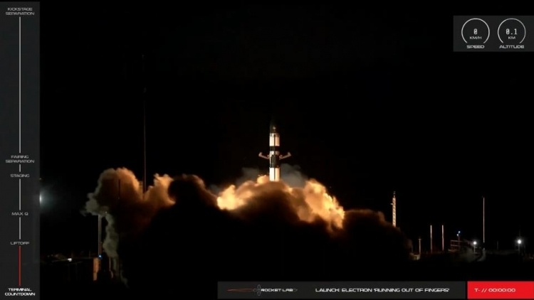 Rocket Lab доставила 7 спутников на орбиту и выполнила ключевой манёвр для многоразового использования ракеты