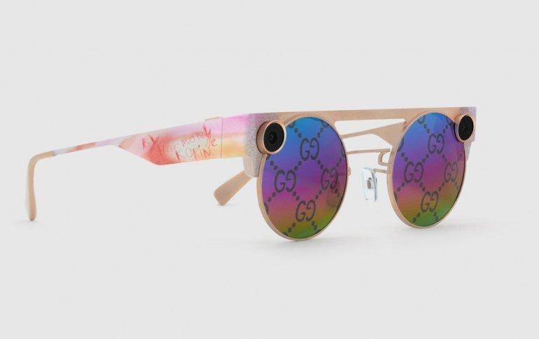 Snap и Gucci представили очки дополненной реальности Spectacles x Gucci