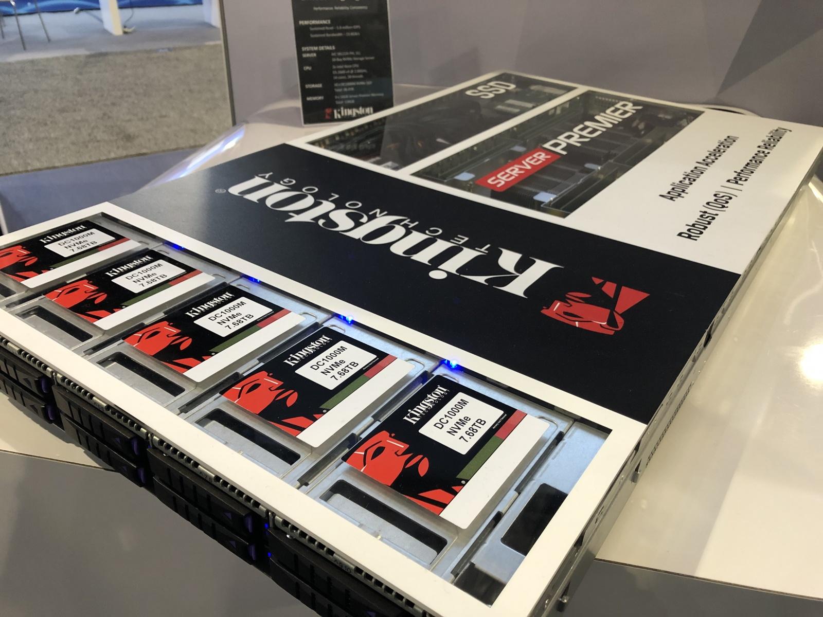 [Supercomputing 2019]. Мультиоблачное хранилище как сфера применения новых накопителей Kingston DC1000M - 4