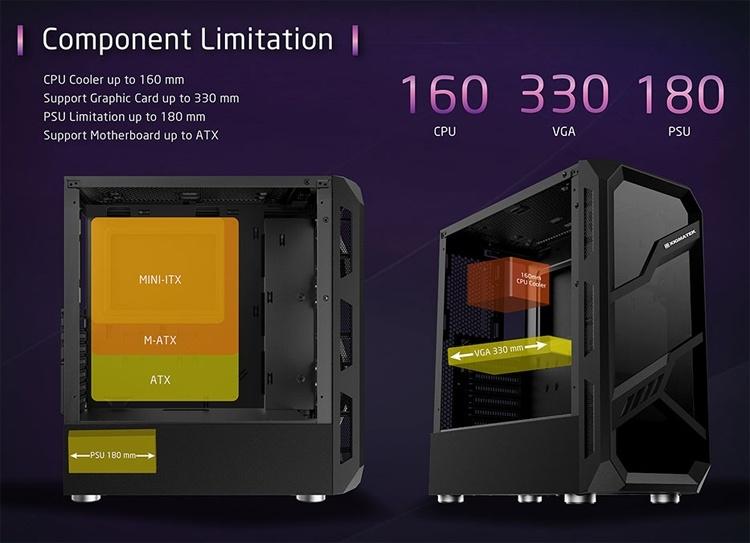 Xigmatek Lamiya: ПК-корпус со стеклянными панелями для игровой системы