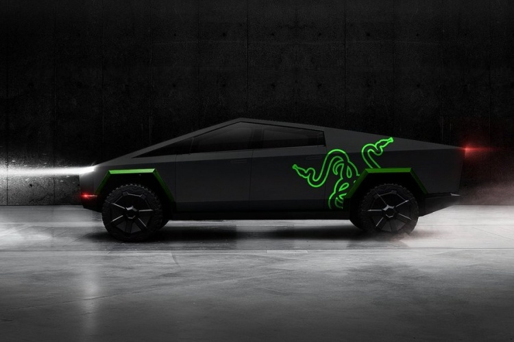 Глава Razer показал дизайн ноутбука в духе Tesla Cybertruck