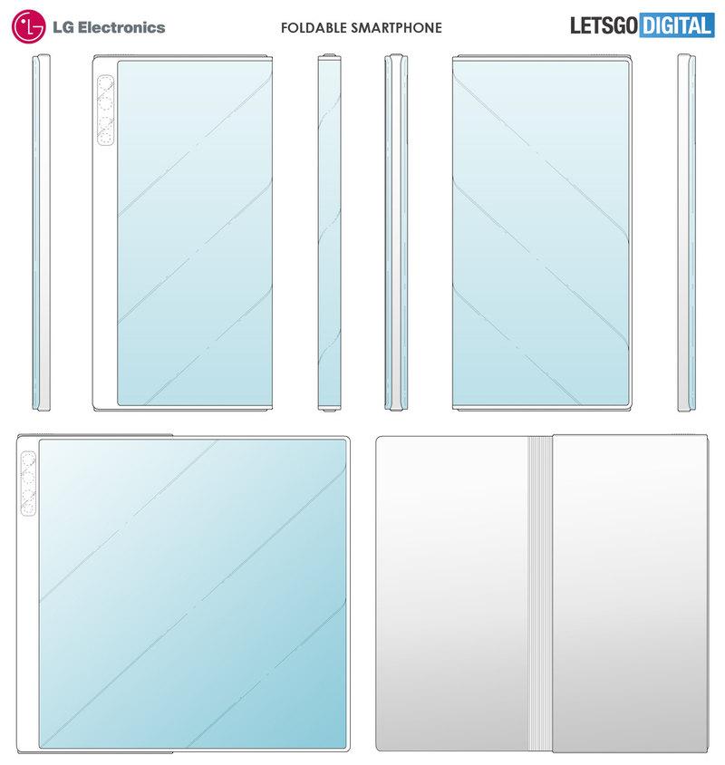 Как может выглядеть гибкий смартфон LG