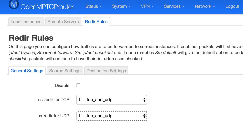 Настоящее суммирование интернет-каналов — OpenMPTCPRouter - 14