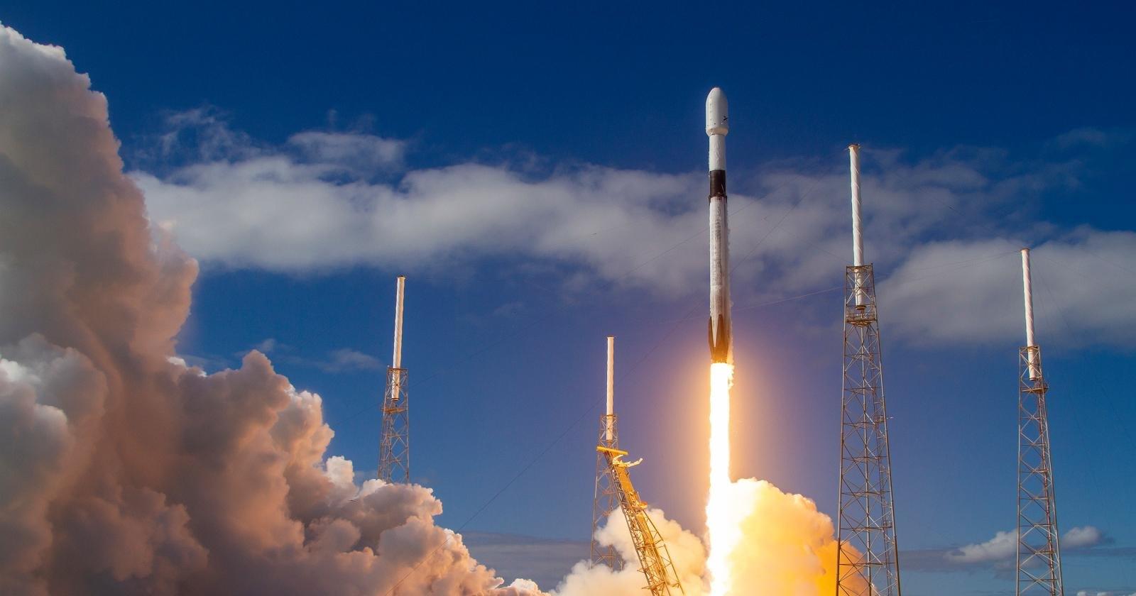 Видео запуска грузового космического корабля к МКС