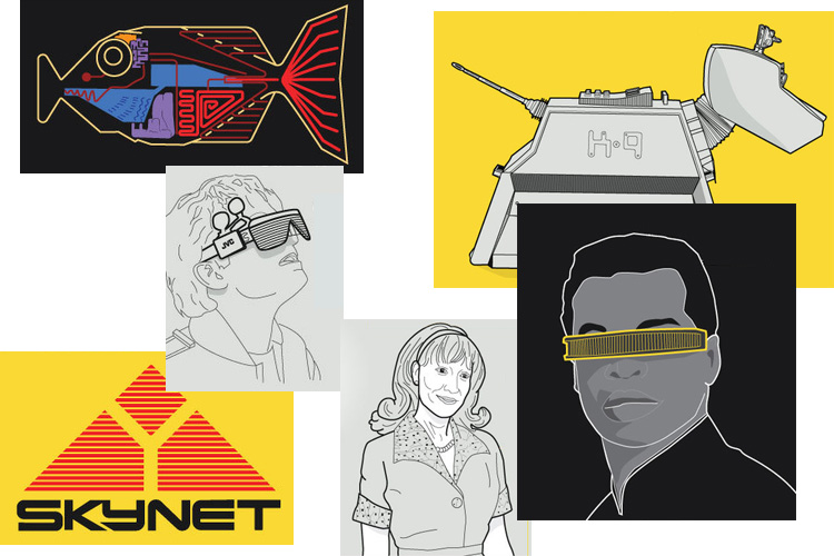 [Инфографика] Как искусственный интеллект показан в научной фантастике - 1