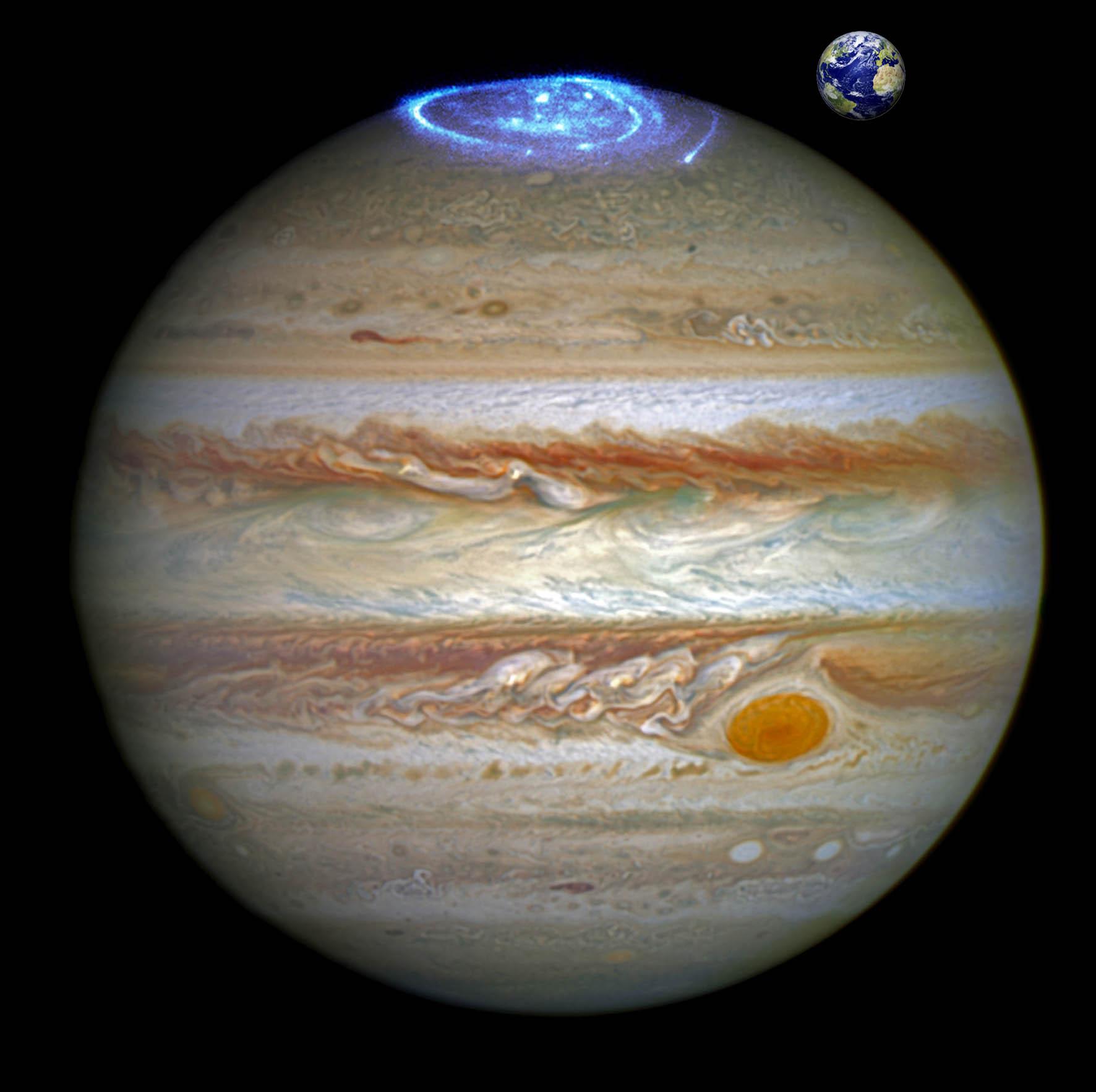 Полярные сияния на планетах Солнечной системы - 11
