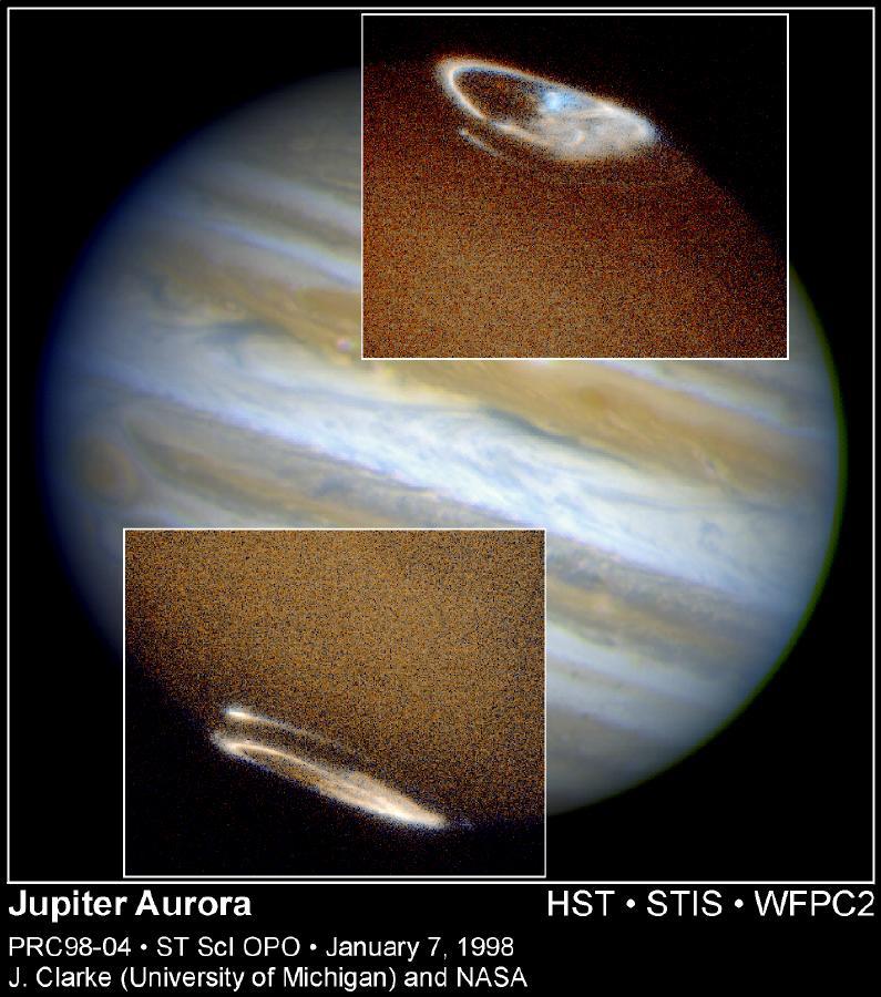 Полярные сияния на планетах Солнечной системы - 15