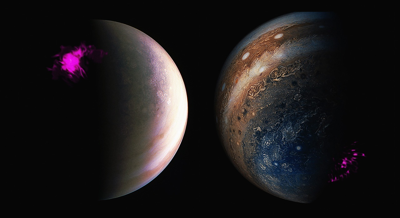 Полярные сияния на планетах Солнечной системы - 16