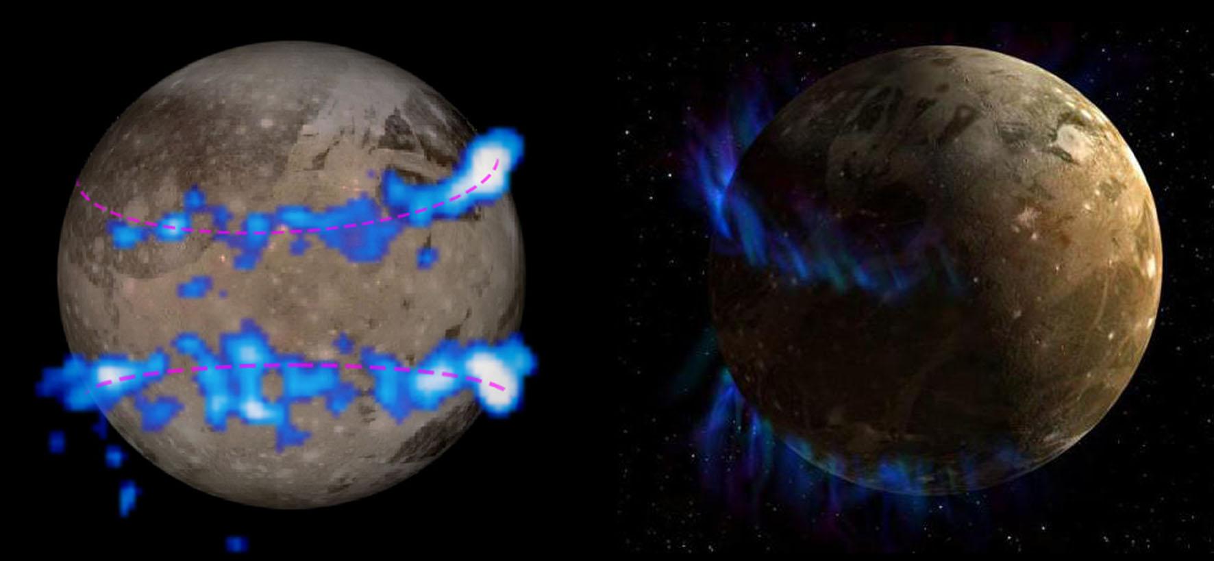 Полярные сияния на планетах Солнечной системы - 20