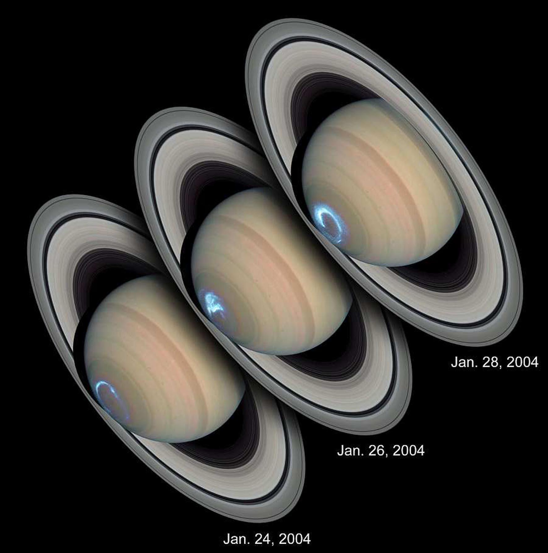 Полярные сияния на планетах Солнечной системы - 22