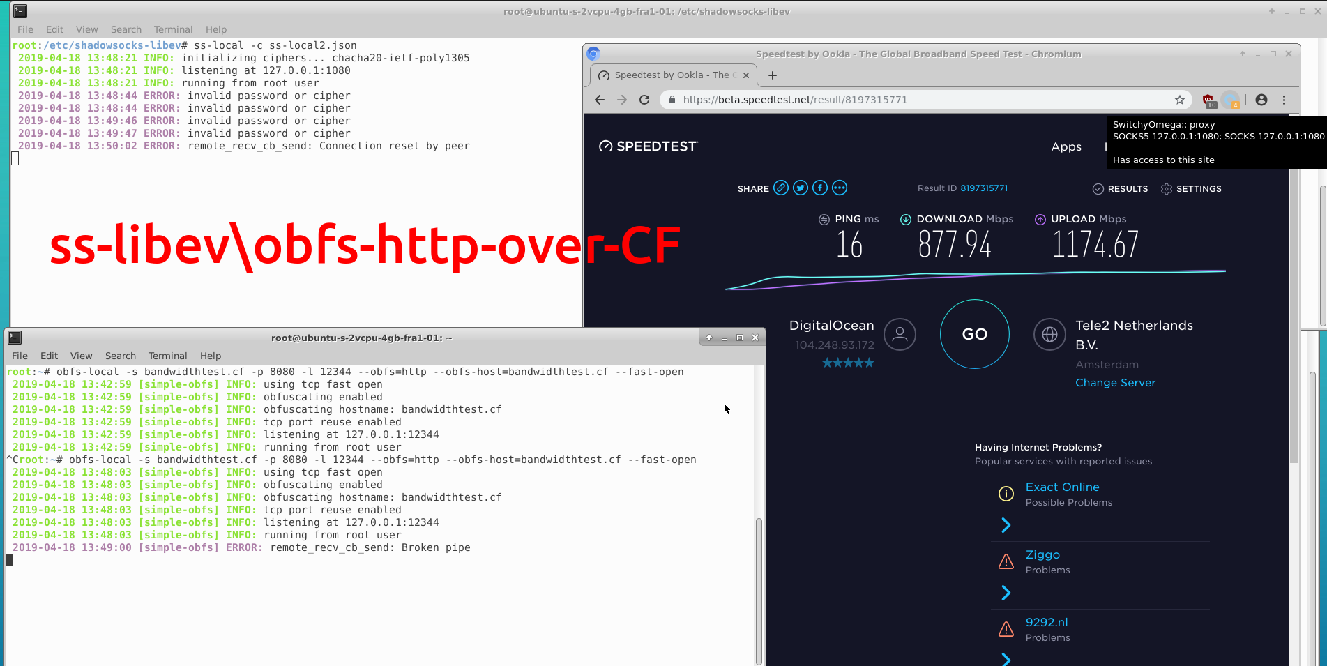 Сравнение производительности инструментов обхода блокировок-VPN - 18