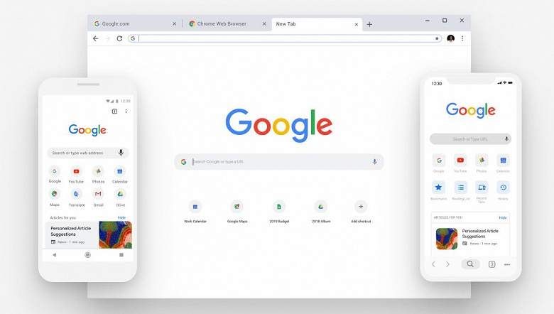 Google сделает Chrome намного удобнее