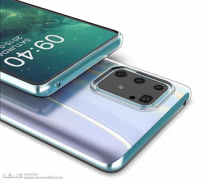 Где прячется селфи-камера Samsung Galaxy S10 Lite?