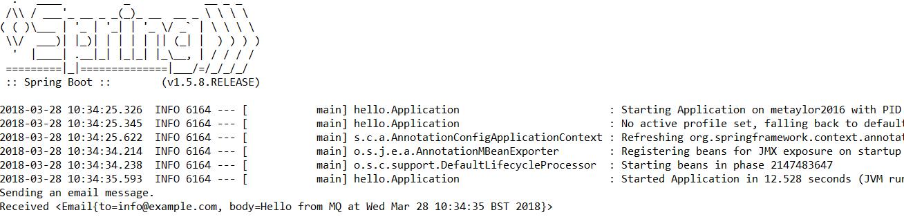 Разработка MQ JMS приложения на Spring Boot - 2
