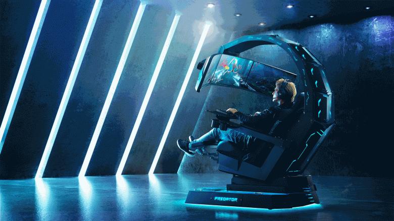 Игровое кресло за 2,5 млн рублей предлагают опробовать всем желающим