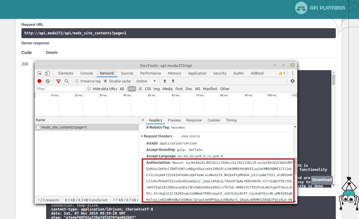 Как создать RESTful API на Symfony 5 + API Platform для проекта на MODX - 10