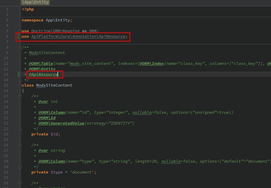Как создать RESTful API на Symfony 5 + API Platform для проекта на MODX - 3