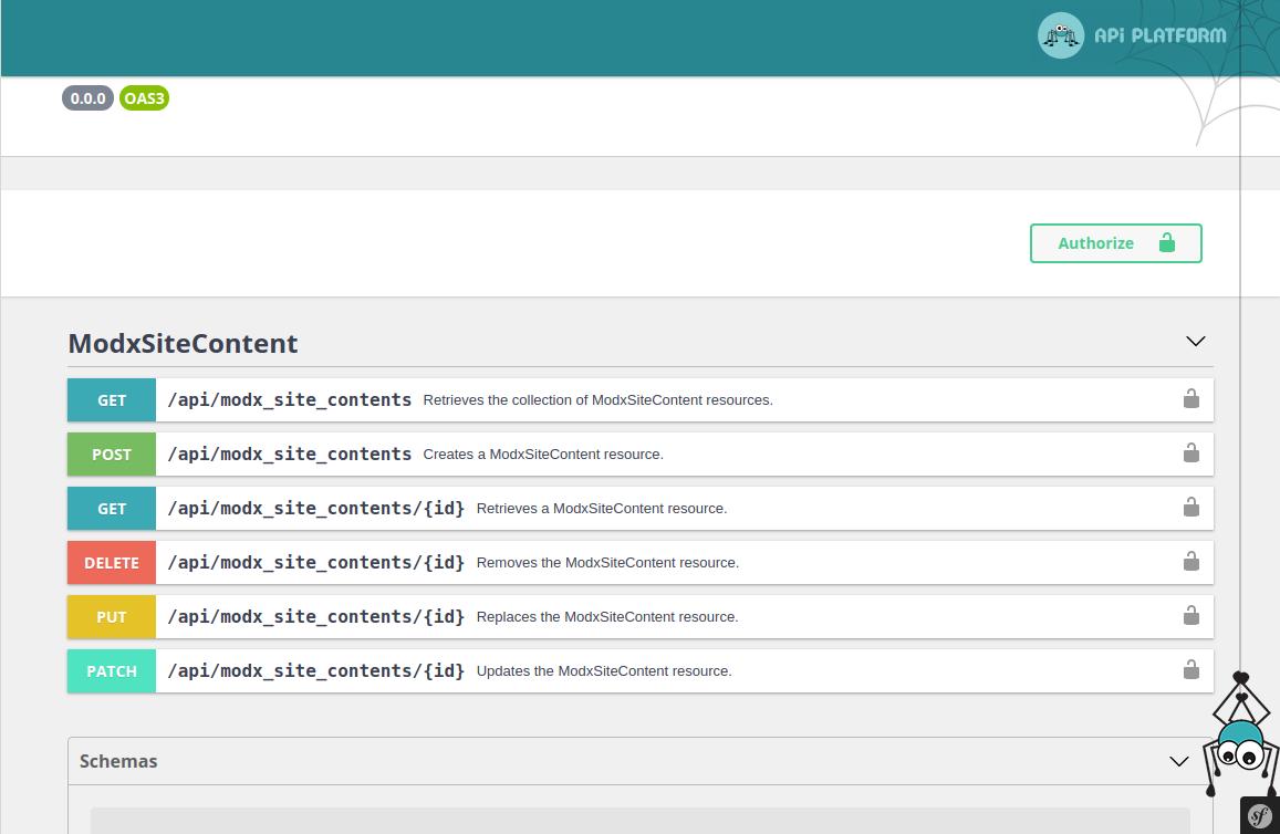 Как создать RESTful API на Symfony 5 + API Platform для проекта на MODX - 4