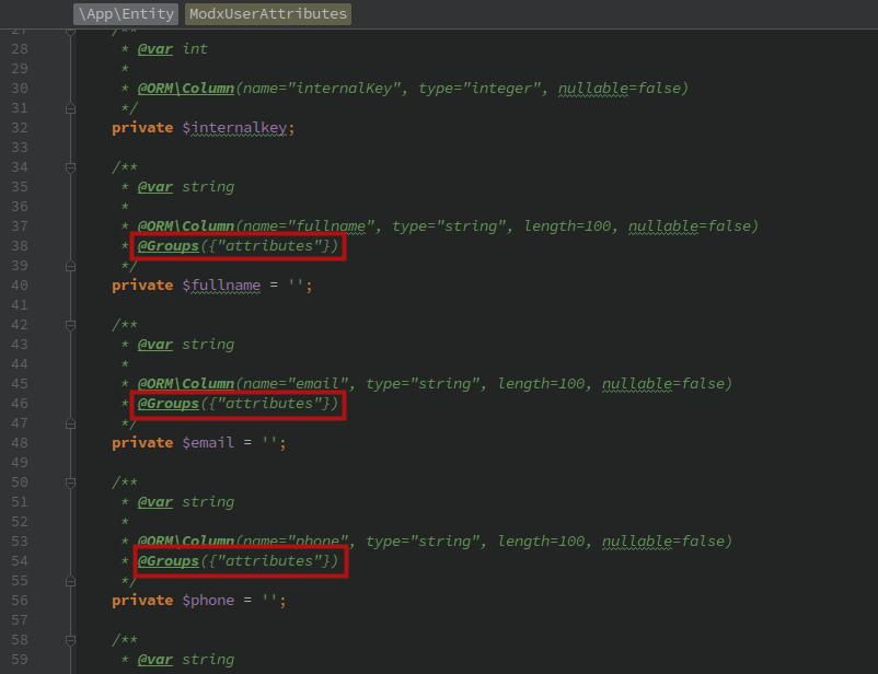 Как создать RESTful API на Symfony 5 + API Platform для проекта на MODX - 8