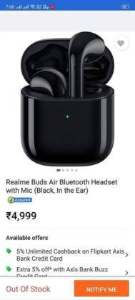 Никаких убийц Xiaomi AriDots из Realme Buds Air не получится. Они будут конкурировать с Air 2
