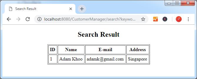 Пишем простое веб-приложение используя Spring MVC, Spring Data JPA и Hibernate - 7