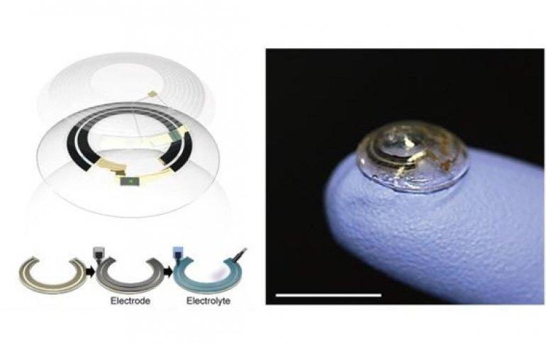 Южнокорейские ученые разработали технологию беспроводной зарядки умных контактных линз