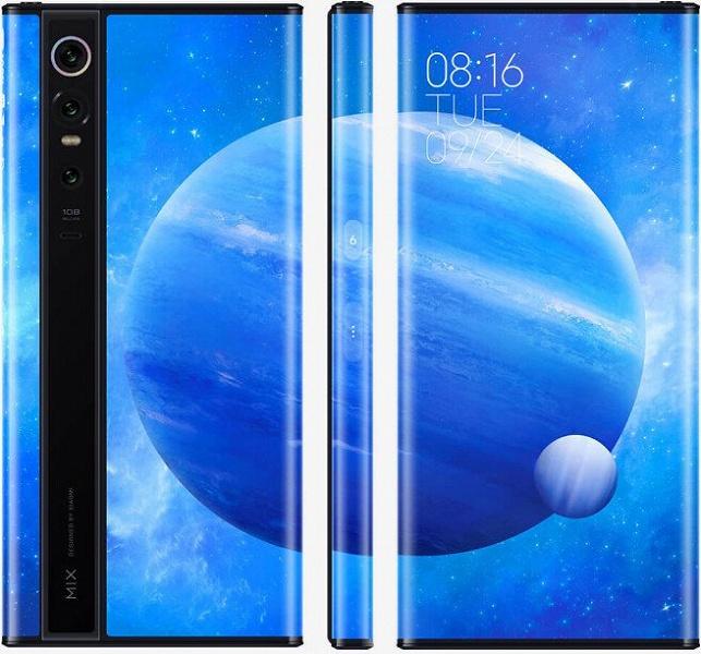 Концептуальный смартфон Xiaomi Mi Mix Alpha направляется в Европу. Ориентировочная цена в России