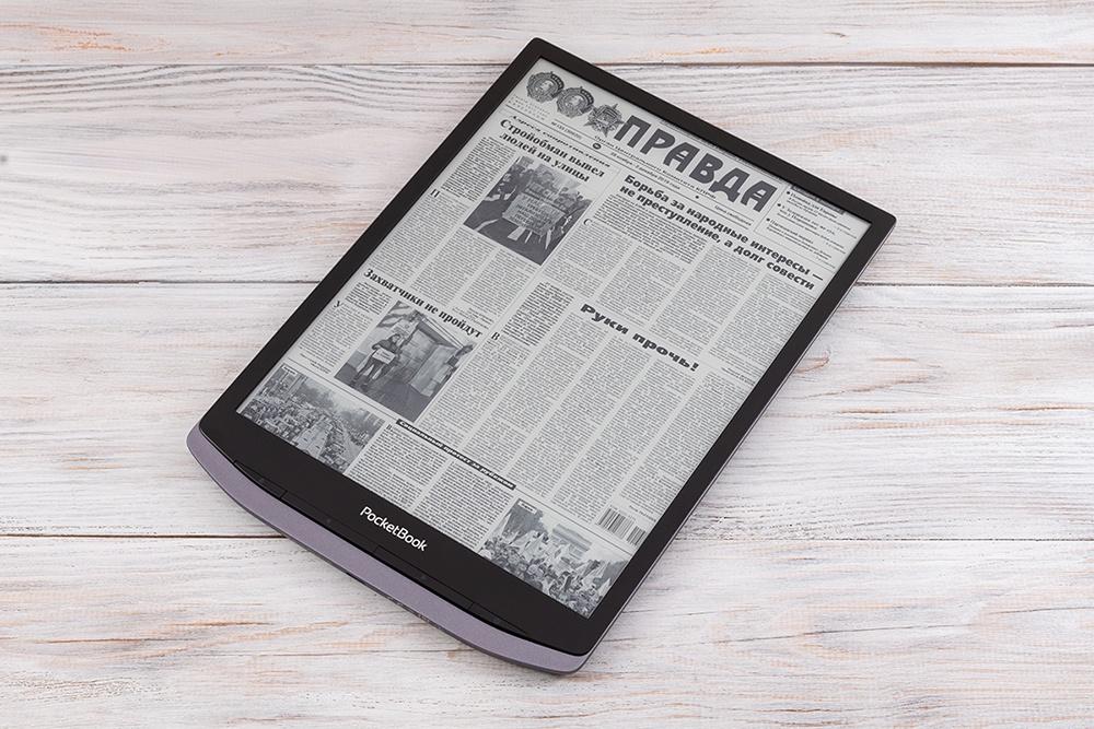 Обзор PocketBook X – огромного 10,3-дюймового ридера с экраном E Ink Carta Mobius и металлическим корпусом - 1