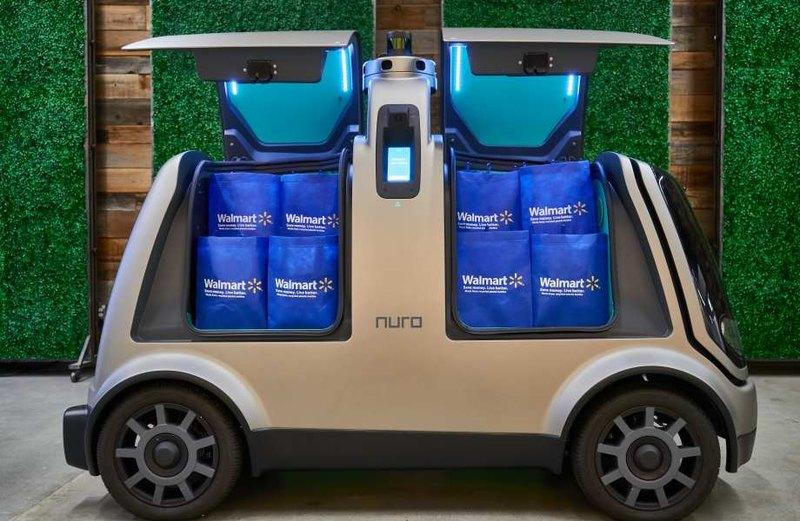 Walmart будет доставлять товары с помощью беспилотников Nuro - 2