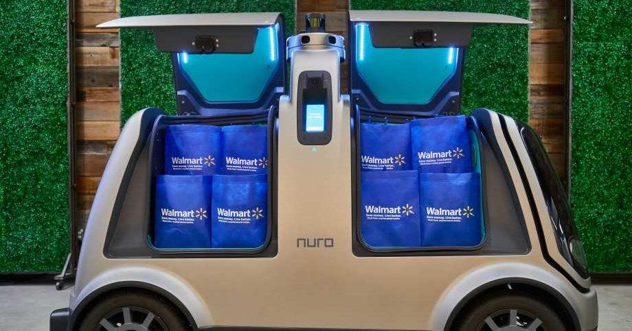 Walmart будет доставлять товары с помощью беспилотников Nuro