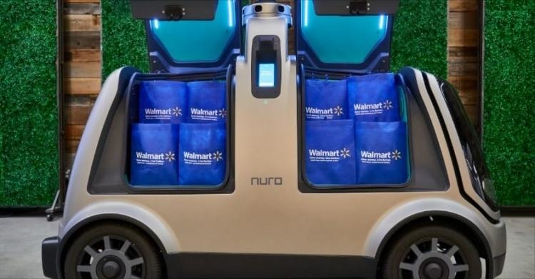 Walmart запустит в Хьюстоне пилотную программу по доставке продуктов робомобилями Nuro