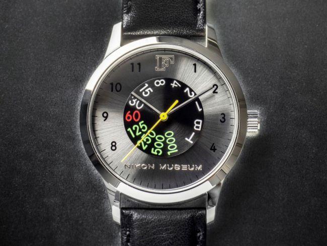 Часы Nikon с необычным циферблатом можно купить только в Японии