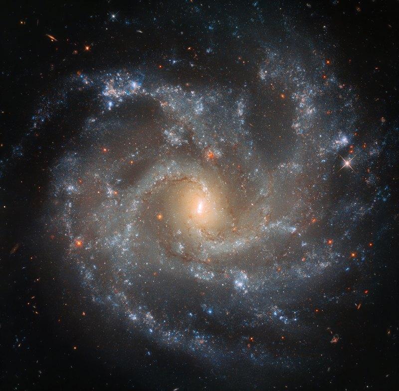«Хаббл» получил потрясающий снимок галактики в более чем 130 млн световых лет