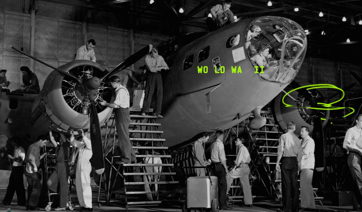 Как глупые решения при проектировании самолёта времён Второй Мировой привели к созданию Macintosh - 1