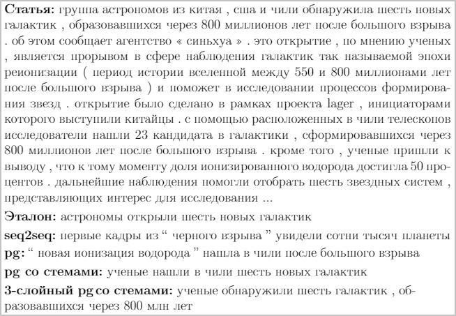 Как сделать из нейросети журналиста, или «Секреты сокращения текста на Хабре без лишних слов» - 24