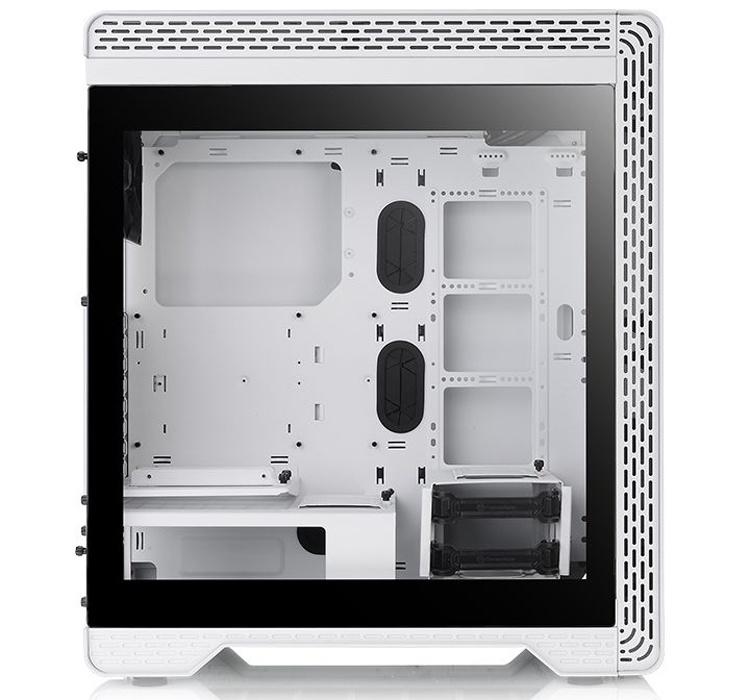 Корпус Thermaltake S500 TG предстал в «снежном» исполнении