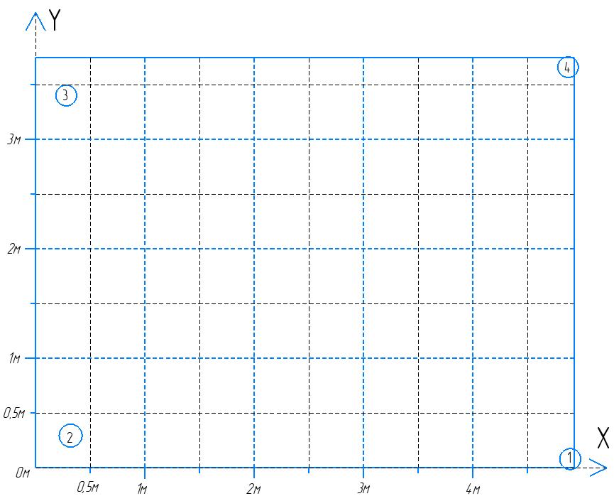 Ультразвуковая система определения координат 2.0 - 13