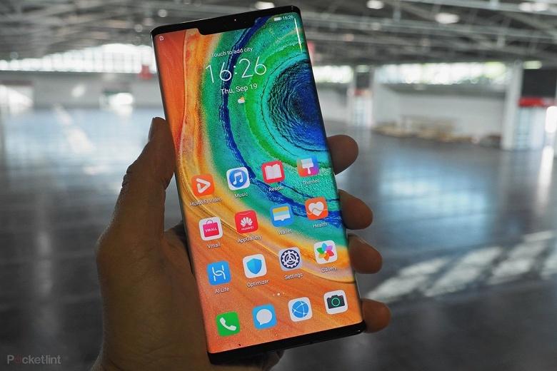 Huawei Mate 30 Pro 5G получил новейшую версию EMUI 10